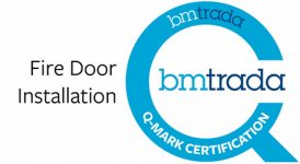 BM Trada Fire Door Installation