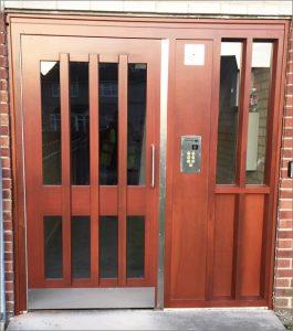 Hardwood Security Door